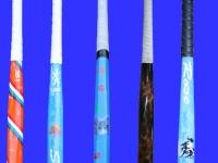 Airbrush werk op hockeystick, Lochem.