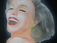 Marilyn Monroe airbrush Lochem.