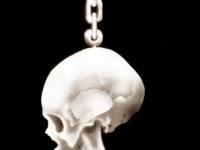 Skull. Airbrush.