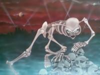 Skeleton. Airbrush. Airbrush art.