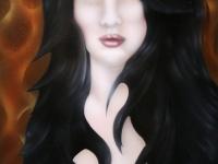 Vampier airbrush werk Lochem.