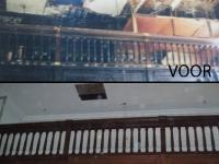 Restauratie synagoge Borculo. Hout imitatie.