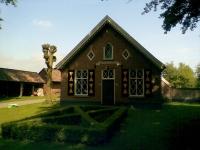 Buiten schilderwerk boerderij Landgoed Verwolde Schilders Lochem,